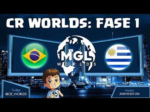 CR WORLDS: BRASIL VS URUGUAY, ELIMINATORIAS | KManuS88 | Clash Royale