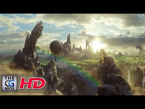 """CGI VFX Breakdowns : """"Oz The Great and Powerful"""" Balloon Crash, by Sony Pictures Imageworks"""