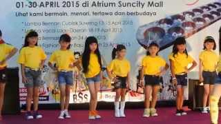 Fashion Show Anak D'Modelling part 1