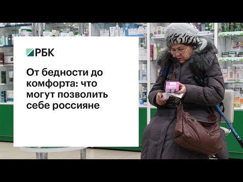 Сколько россиян живут в зоне бедности