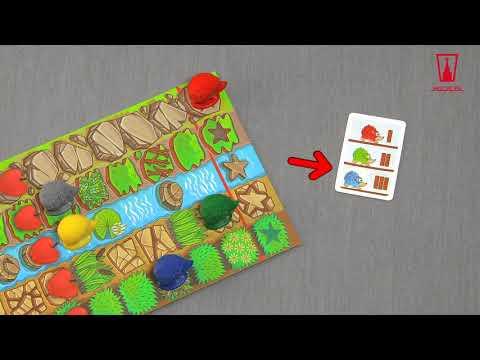 Настольная игра Гонки ёжиков: правила
