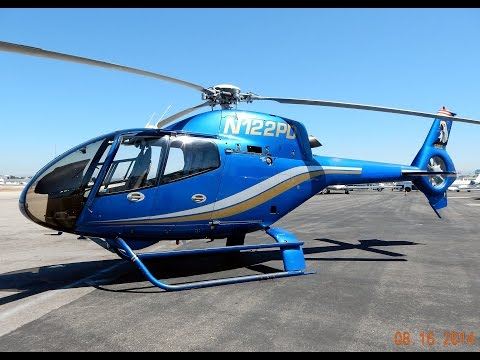 GoPro Flight in Airbus Eurocopter EC120 Colibri N122PD O.C. Helicopters John Wayne Airport (2014)