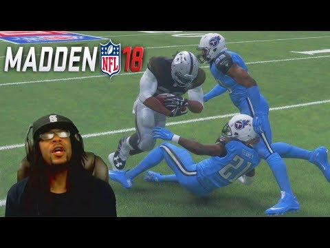 Madden 18 Career Mode Ep 2 - FIRST NFL GAME VS TENNESSEE TITANS!
