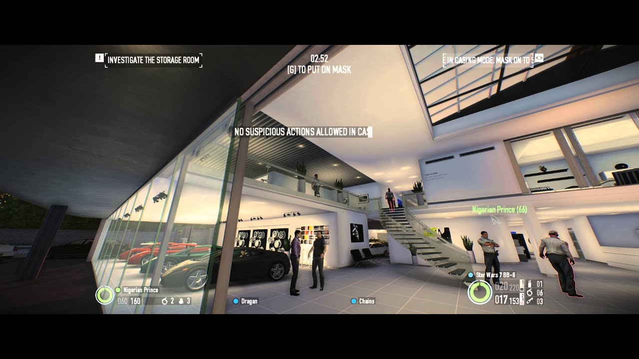 Payday 2 Car Shop On Very Hard Not Quite With Nigerian Prince
