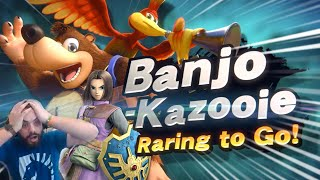Banjo & Kazooie Confirmed for Smash Ultimate!? Hungrybox Freaks Out