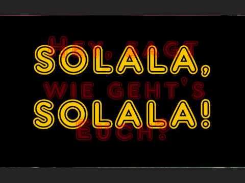 Blumentopf - Solala [Lyrics]