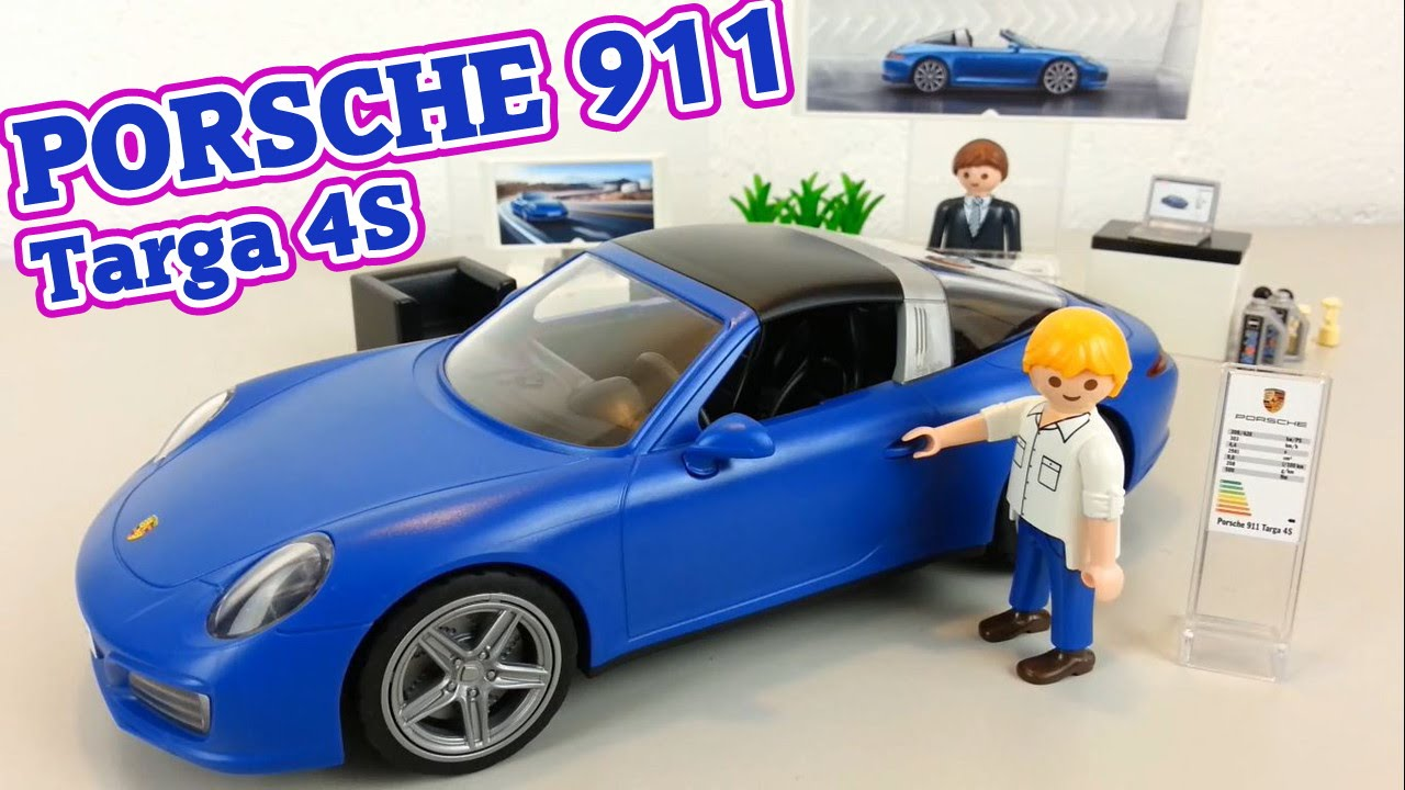 playmobil porsche 911 targa 4s auspacken seratus1 neuheit. Black Bedroom Furniture Sets. Home Design Ideas