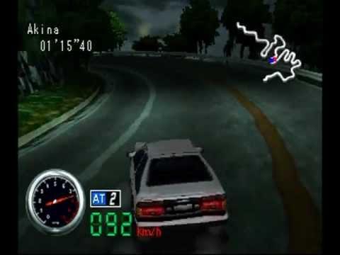 initial-d,-ps1-racing-game