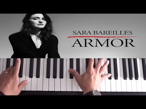 How To Play Armor on Piano - Sara Bareilles - Piano Tutorial