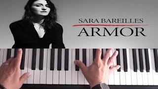 How To Play Armor on Piano - Sara Bareilles - Piano Tutorial