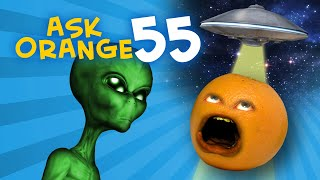 Annoying Orange - Ask Orange #55: Area 51 RAID!!!