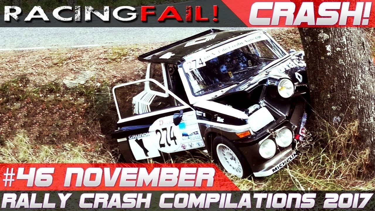 Rally Crash Compilation Week 46 November 2017 Rallye Du Var Special Racingfail