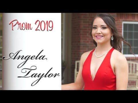 Angela Taylor - Laverne High School Prom - May 10th, 2019