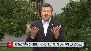 """Ministro Sichel: """"Estamos gestionando y priorizando a las residencias que son más vulnerables"""""""