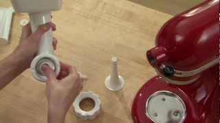 kitchenaid stand mixer attachment sausage stuffer kit