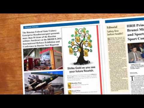 Brunei-Russia Relations Newspaper After Effects HD