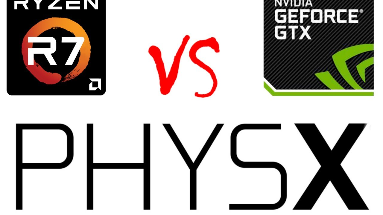 2017: Nvidia PhysX on CPU or GPU? 1080 vs 1800x
