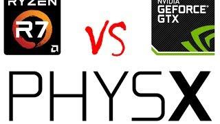 видео NVIDIA PhysX