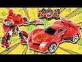 武战道 火雷霆 变形跑车机器人 变形金刚 鳕鱼乐园玩具分享