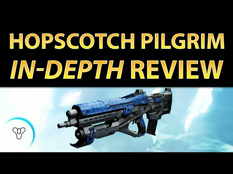 Planet Destiny: Hopscotch Pilgrim Review - Best Legendary Pulse Rifle? Reforge Guide!