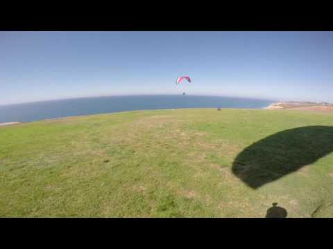 Takeoff at Torrey Pines Gliderport