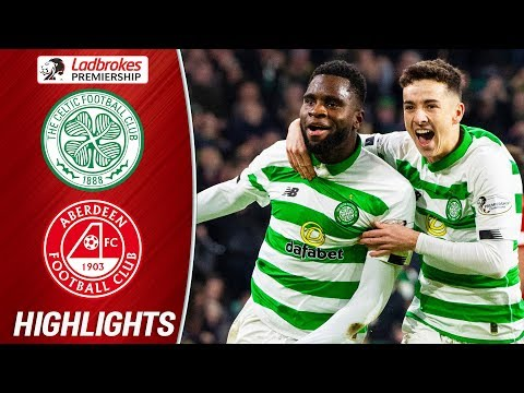 Celtic 2-1 Aberdeen | Odsonne Edouard Winner keeps Celtic Top of the Table | Ladbrokes Premiership