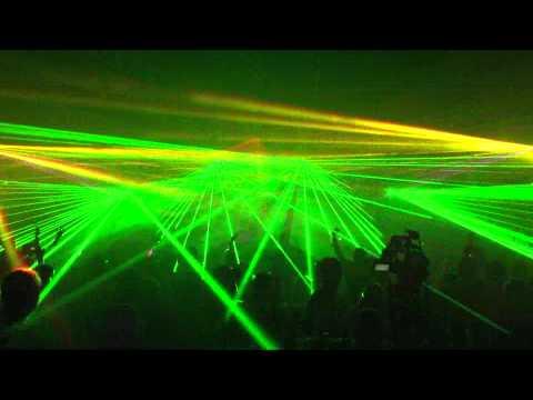 Tiesto Prešov 2010 Laser Show By MINISTRY Rental Service