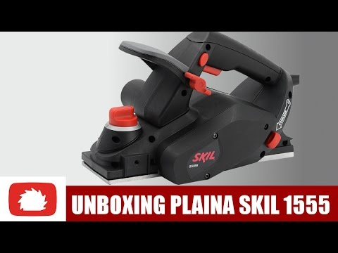 Unboxing Plaina Skil 1555 | Vlog maker #14