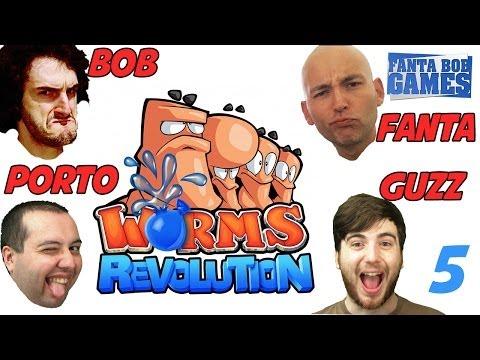 Fanta et Bob dans Worms Revolution avec Guzz et Porto : Revenge ! Ep.5
