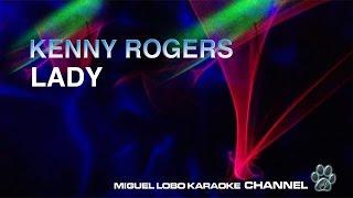 KENNY ROGERS - LADY - Karaoke Channel Miguel Lobo