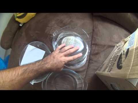 Conjunto de Assadeiras de Vidro 10 Peças - Marinex - R$114