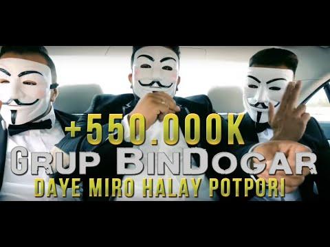 Grup BinDogar - #DayeMiro - #Official Halay Clip Video 2017 ( prod. by Ersan  )