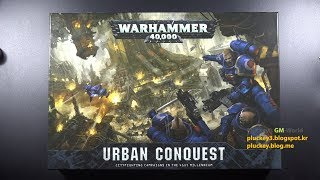 Games Workshop Warhammer 40,000 - Urban Conquest - Unboxing and Review