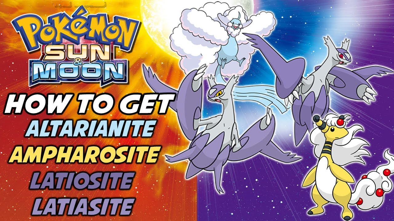 how to get latiasite in sun and moon