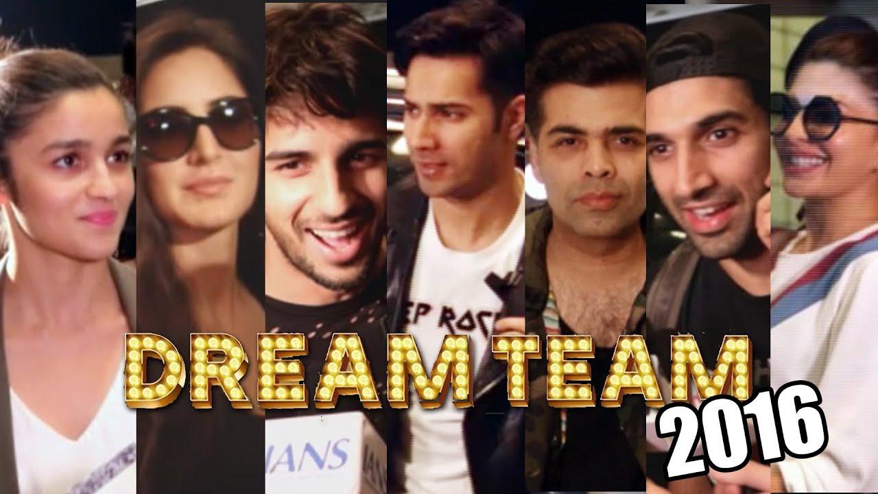 Dream Team Tour 2016 | Katrina | Varun | Sidharth | Alia ...