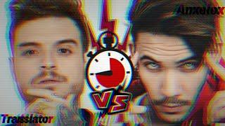 [Rap] Kronno Zomber VS Zarcort | Lyric Video Translator VS Anxelex