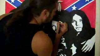 Speed Drawing LYNYRD SKYNYRD [by Stefano Assenzio Piccinini].wmv