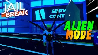 FIRST TIME PLAYING THE JAILBREAK ALIEN INFECTION MODE! [Roblox Jailbreak]