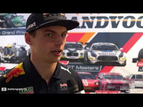 Interview Max Verstappen - Vooruitblik Jumbo Racedagen 2017