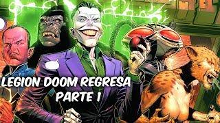 el joker y el mejor equipo de villanos dc comics regresa new justice league parte 1 soycomicstj