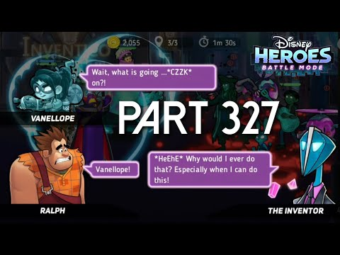 Disney Heroes Battle Mode CRUSHING CHAPTER 13 PART 328 Gameplay Walkthrough - IOS/Android