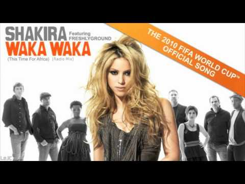 Waka Waka This Time for Africa KMix Radio  Shakira 2010 FIFA World Cup  HQ Sound