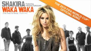 Download Lagu Waka Waka This Time for Africa K-Mix Radio - Shakira 2010 FIFA World Cup Sound MP3