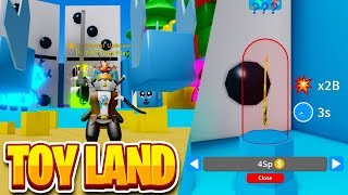 I GOT OVER 5QA DAMAGE IN THE NEW TOY LAND *INSANE* | Unboxing Simulator