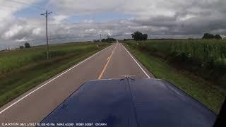 Dash cam video from fatal semi crash
