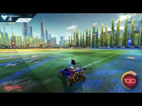 Rocket League Aerial All-Star Training 100% Without Jumping