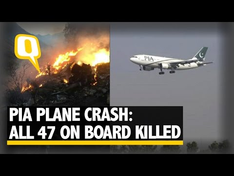The Quint: PIA Crash: All On Board Including Rock Star Junaid Jamshed Killed