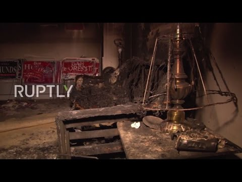 'Nazi Republicans leave town or else' – GOP HQ firebombed in N. Carolina