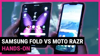 Moto Razr VS Galaxy Fold | Top 5 Differences We Noticed Side By Side