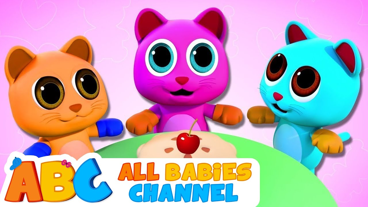 Three Little Kittens | All Babies Channel | Nursery Rhymes and Kids Songs